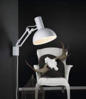 Wandleuchte Metall weiß verstellbar modern