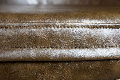Design Sessel mit Aluminium beschichtet 360° drehbar - Vorschau 4