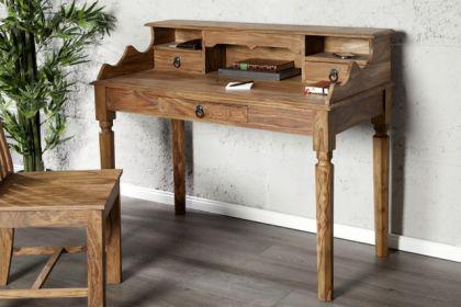 Sekretär, Schreibtisch aus Massivholz - Vorschau 1