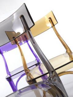 Design Stuhl Classic, Farbe amber transparent - Vorschau 3