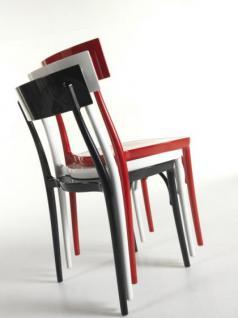 Designstuhl Classic, Farbe weiß - Vorschau 1