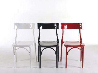 Designstuhl Classic, Farbe schwarz