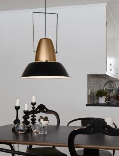 Pendelleuchte, moderne Pendellampe, Bronze-schwarz, Ø 45 cm - Vorschau 2