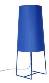 Tischleuchte, moderne Tischlampe in neun verschiedenen Farben