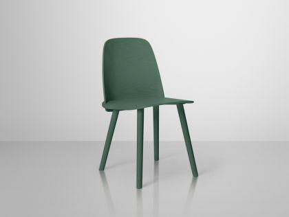 Designer Stuhl in grün - Vorschau