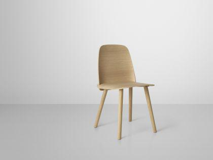 Designer Stuhl aus Eichenholz