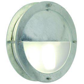 Wandleuchte Metall verzinkt PVC Outdoor 15 Jahre Anti-Rost-Garantie schlagfestes Material - Vorschau 2