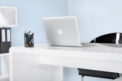 design b rotisch in wei modern kaufen bei richhomeshop. Black Bedroom Furniture Sets. Home Design Ideas