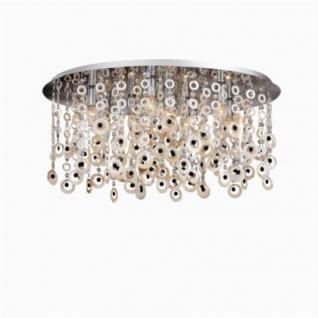 deckenleuchte metall chrom kristall schwarz perlmutt modern kaufen bei richhomeshop. Black Bedroom Furniture Sets. Home Design Ideas