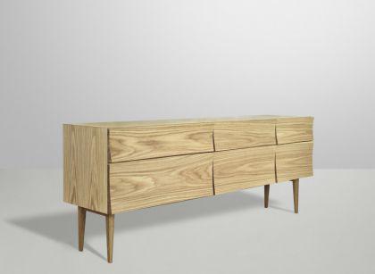 Designer Sideboard aus Eichenholz