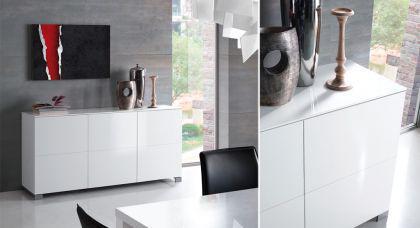 Modernes, design Sideboard in zwei Farben, 165 cm Breit