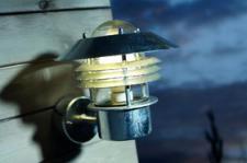 Wandleuchte Metall verzinkt Glas Outdoor 15 Jahre Anti-Rost-Garantie