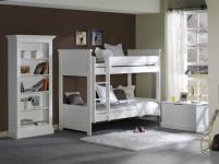 Regal / Bücherregal Hampton im Landhausstil in weiß