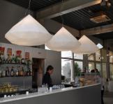 Design Pendelleuchte in Weiß, Bijoux