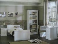"""Komplett Jugend- Kinderzimmer Hampton"""" im Landhausstil im weiß"""""""