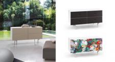 Kommode Artdesign, Sideboard in drei Farben, Breite 126 cm