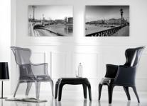 Sessel im Modern-Barockstil, italienisches Design