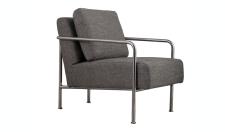 Designersessel in Grau