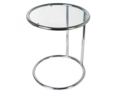Beistelltische glas metall online kaufen bei yatego for Beistelltisch glas chrom rund