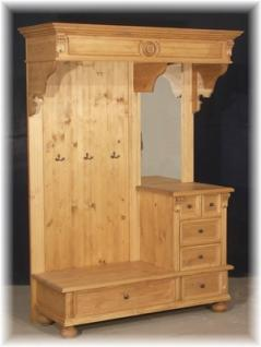 garderobe landhaus antik wei g nstig online kaufen yatego. Black Bedroom Furniture Sets. Home Design Ideas