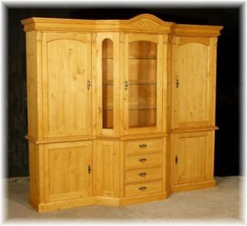 wohnzimmerschrank schrankwand massivholz kaufen bei country bohemia s r o individuelle. Black Bedroom Furniture Sets. Home Design Ideas
