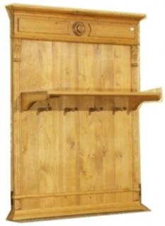 wandgarderobe garderobe massiv holz landhausstil kaufen. Black Bedroom Furniture Sets. Home Design Ideas