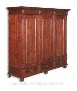 kleiderschrank dielenschrank w scheschrank landhausstil. Black Bedroom Furniture Sets. Home Design Ideas