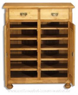 schuhschrank schuhregal vertiko anrichte schrank holz. Black Bedroom Furniture Sets. Home Design Ideas