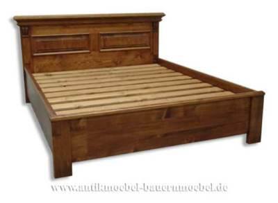 bett doppelbett landhausstil kaufen bei country bohemia. Black Bedroom Furniture Sets. Home Design Ideas