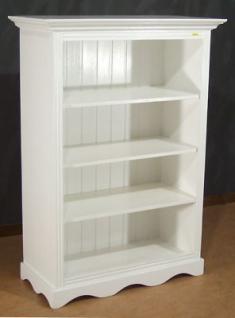 b cherregal landhausstil weiss kaufen bei country. Black Bedroom Furniture Sets. Home Design Ideas