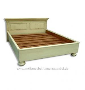 bett doppelbett landhausstil shabby chic bei yatego kaufen. Black Bedroom Furniture Sets. Home Design Ideas