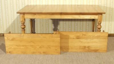 esstisch k chentisch ausziehbar variante c landhausstil. Black Bedroom Furniture Sets. Home Design Ideas