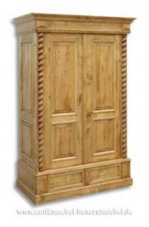 Kleiderschrank Bauernschrank Dielenschrank Schrank Massiv Holz Landhaus - stil - Vorschau