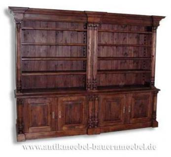 wohnzimmerschrank b cherschrank b cherwand landhausstil. Black Bedroom Furniture Sets. Home Design Ideas