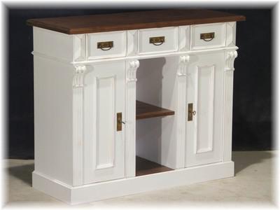anrichte siderboard halbschrank schrank holz massiv. Black Bedroom Furniture Sets. Home Design Ideas