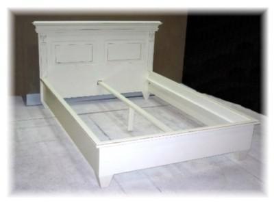 bett weiss landhausstil online bestellen bei yatego. Black Bedroom Furniture Sets. Home Design Ideas