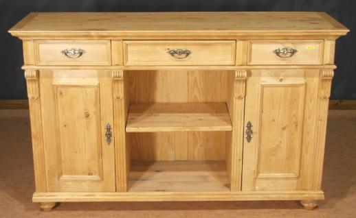 sideboard lowboard highboard anrichte halb schrank massiv holz landhausstil kaufen bei. Black Bedroom Furniture Sets. Home Design Ideas