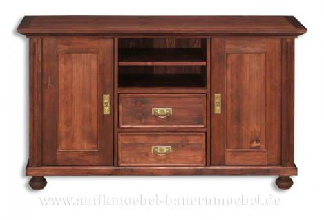 phonoschrank tv schrank anrichte halbschrank holz massiv landhaus stil m bel kaufen bei. Black Bedroom Furniture Sets. Home Design Ideas