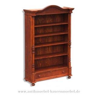 Bücherregal Regal massiv Holz Landhausstil - Vorschau