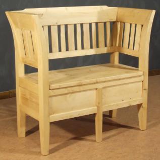 sitzbank truhenbank landhausstil kaufen bei country bohemia s r o individuelle m bel nach mass. Black Bedroom Furniture Sets. Home Design Ideas