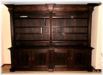 Wohnzimmerschrank Bücherschrank Bücherwand Landhausstil