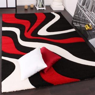 teppich schwarz rot online bestellen bei yatego - Wohnzimmer Teppich Schwarz Weis