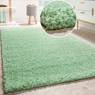 Teppich mintgrün  Hochflor Teppich Grün online bestellen bei Yatego