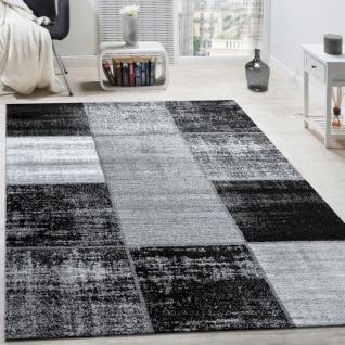 Teppich grau schwarz  Designer Teppich Grau Schwarz Weiss online kaufen - Yatego