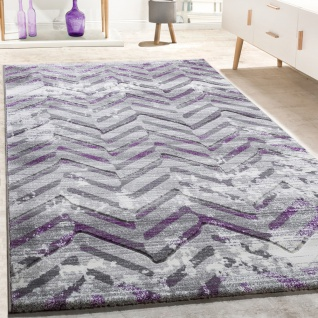 Teppich grau lila  Design Teppich Lila online bestellen bei Yatego