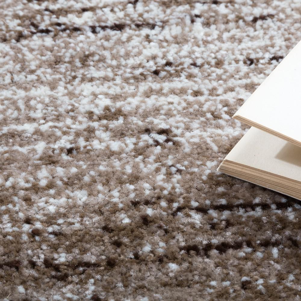 Designer teppich modern wohnzimmer teppiche kurzflor karo meliert ...