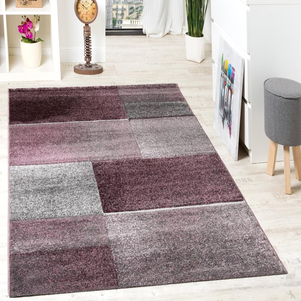 teppich grau lila haus deko ideen. Black Bedroom Furniture Sets. Home Design Ideas