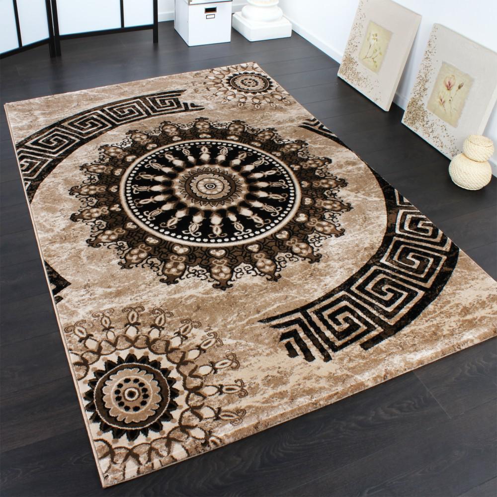 Schwarz braun teppiche online bestellen bei yatego