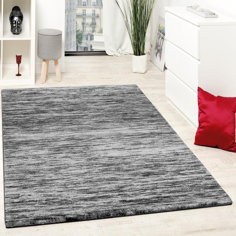 teppiche modern wohnzimmer teppich spezial melierung grau schwarz meliert kaufen bei diva. Black Bedroom Furniture Sets. Home Design Ideas