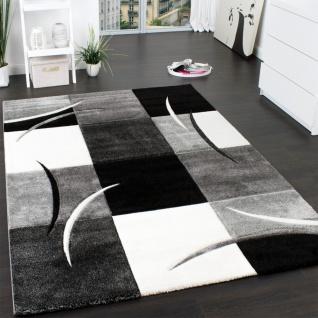 designer teppich grau schwarz weiss online kaufen - yatego